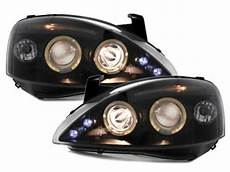 opel corsa c scheinwerfer headlights suitable for opel corsa c 01 06 2 halo rims