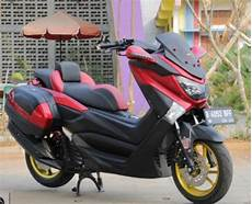 Modifikasi Motor Yamaha Nmax by Yamaha Nmax Modifikasi Touring Modifikasi Motor Kawasaki