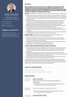 senior consultant resume sles and templates visualcv