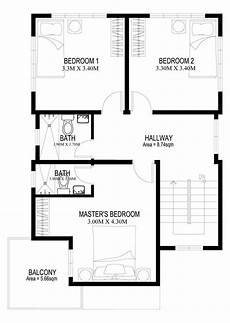 two story house plans series php 2014004 pinoy two story house plans series php 2014005 pinoy house