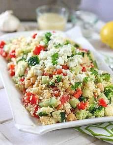 Rezept Couscous Salat - crunchy mediterranean couscous salad