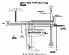 82206958 wiring harness diagram scag sthm 23cv s n 7500001 7509999 parts diagram for electrical wiring harness