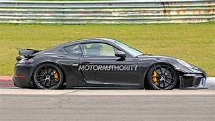 2020 Porsche 718 Cayman GT4 Spy Shots And Video