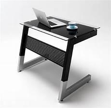 inneneinrichtung bueromoebel design schwarz glas schreibtisch arbeitstisch b 252 rotisch pc b 252 ro