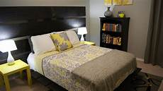 Yellow And Gray Bedroom Decorating Ideas by Yellow And Gray Bedroom Update Living Small