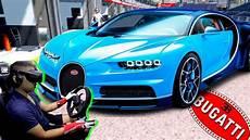 Essai Bugatti Chiron Objectif 400km H Assetto Corsa Vr