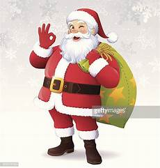 santa claus stock illustrations getty images
