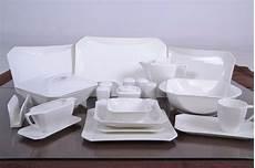 schillerbach tafelservice weiss 12 personen porzellan
