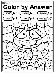 subtraction worksheets colouring 10034 kindergarten math and literacy worksheet pack distance learning kindergarten math