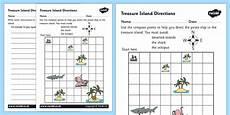 compass directions ks2 worksheets 11720 treasure island directions writing worksheet