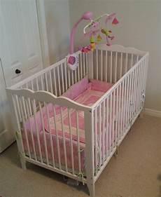 ikea hensvik crib white great condition mattress
