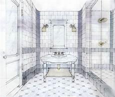 Bathroom Ideas Drawing by Hotel Bathroom Drawing By Stephen Alesch Interior