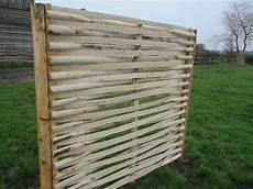 kastanienholz flechtzaun 180 cm hoch x 150 cm breit