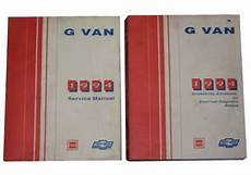 old car owners manuals 1994 gmc vandura 1500 engine control 1994 gm g van chevy gmc rally sportvan vandura magnavan hi cube factory shop service manual set