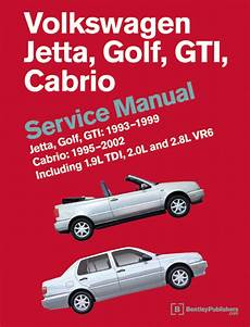 how to download repair manuals 1994 volkswagen jetta auto manual front cover vw volkswagen repair manual jetta golf gti 1993 1999 cabrio 1995 2002