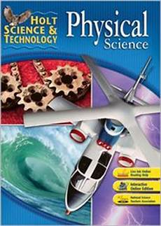 physical science from the holt science technology series