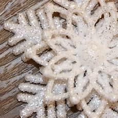 suspension flocon de neige 6 branches blanc d 233 coration 224