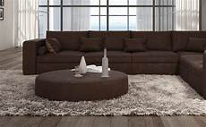 big sofa l form b ware sofa couch wohnlandschaft l form big sofa braun 320