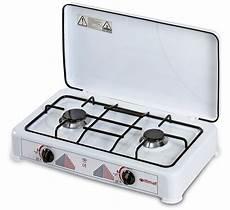 plaque de cuisson 2 feux au gaz butane ustensile de