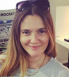 Drew Barrymore Casts Vote In California With Instagram