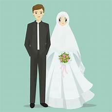 Gambar Kartun Muslimah Wedding Koleksi Gambar Hd