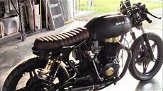 Honda Cb400 Cafe Racer Project 1978 honda cb400 cafe racer project update part 4