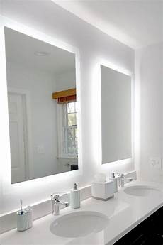 side lighted led bathroom vanity mirror 36 quot 44