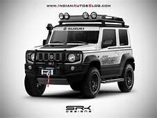 New 2019 Suzuki Jimny Off Road Spec  IAB Rendering