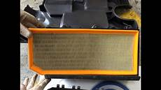 luftfilter golf 6 vw mk5 golf air filter change quot how to quot