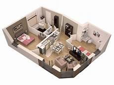 Plan Appartement 60m2 En 3d Altoservices
