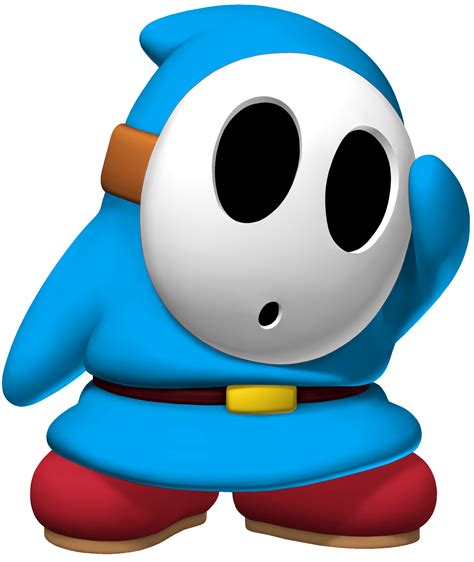 Shy Guy Coloring Pages