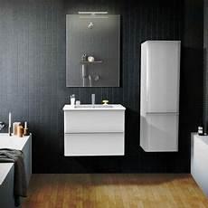 Ensemble Salle De Bain Meuble Vasque Miroir 60 Cm