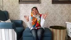 Tutorial Jilbab Segi Empat Bahan Satin Corak