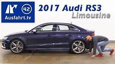 Audi Rs 3 Limousine - 2017 audi rs 3 limousine 2 5 tfsi quattro s tronic