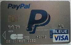carte bleue bloquée paypal sort sa carte bleue e commerce