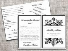 half fold wedding program templates free free software and shareware piratebayband