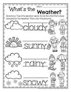 weather worksheets for preschool 14468 free weather themed word tracing printables preschool weather weather words weather