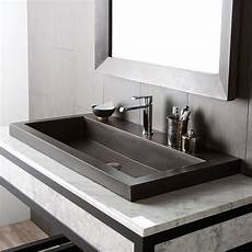 native trails trough stone bathroom sink reviews wayfair