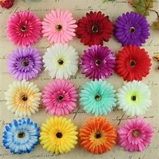 significato dei fiori gerbera 100 pz lotto autunno gerbera heads fiore di seta