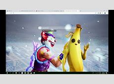 Best Peely Banana Skin Fortnite HD Wallpaper Theme   Must