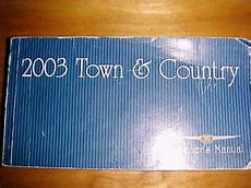 free download parts manuals 2003 chrysler town country regenerative braking purchase 2003 chrysler town and country owners manual motorcycle in stone mountain georgia us