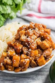 honey sriracha sesame tofu one pot one pot recipes