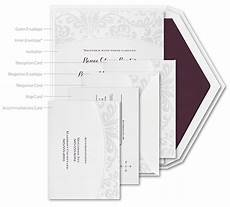 How To Assemble Wedding Invites