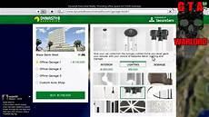 Garage Kaufen Gta 5 by Gta 5 Ceo Garage Interior Price Guide Information