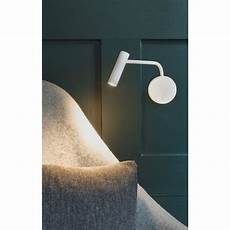 astro lighting wall reading light led in white finish enna wall 7588 lighting from the home