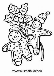 Ausmalbilder Weihnachten Lebkuchenmann Ausmalbilder Zwei Lebkuchenm 228 Nner Lebkuchenm 228 Nner