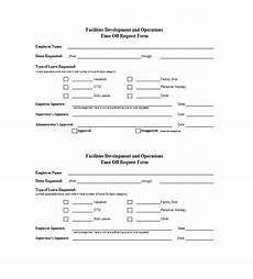 40 effective time off request forms templates ᐅ template lab