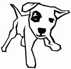 Malvorlage Hund Umriss Vorlage Lustige Hund Als Ausmalbild