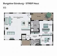 Grundriss Bungalow 3 Zimmer - grundriss bungalow haus barrierefrei mit flachdach