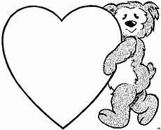 Ausmalbilder Sterne Und Herzen Baerchen Herz Ausmalbild Malvorlage Kinder